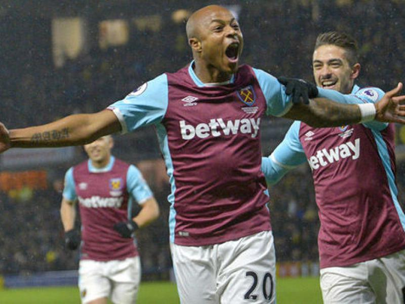 The reason behind Andre Ayew's exit from West Ham during David Moyes' spell