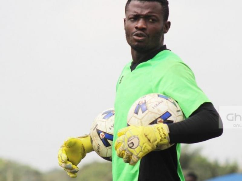Kwame Baah is happy with his performances for Asante Kotoko