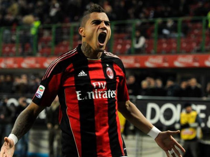 Kevin-Prince Boateng looks back at one of his games at AC Milan
