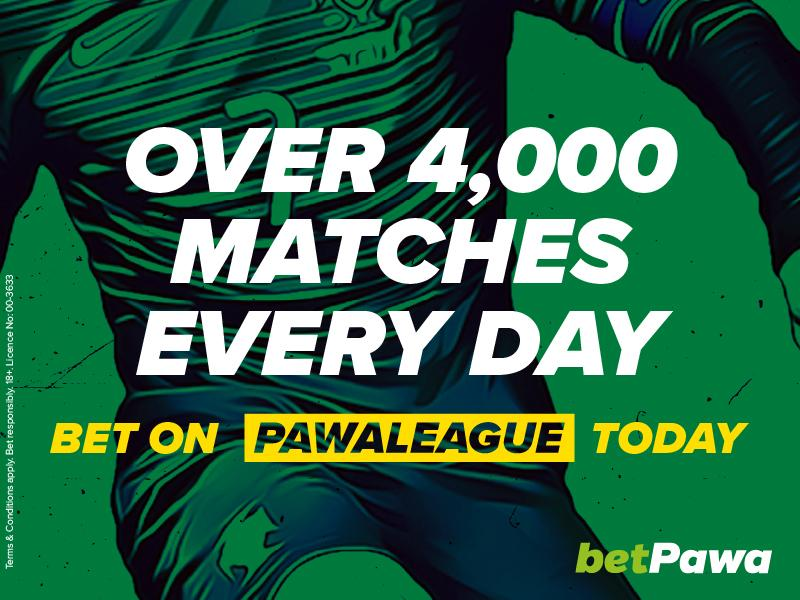 🇳🇬 betPawa add 4,320 more matches a day to win their 250% win bonus on