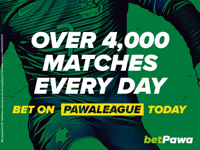 betPawa add 4,320 more matches a day to win their 250% win bonus on