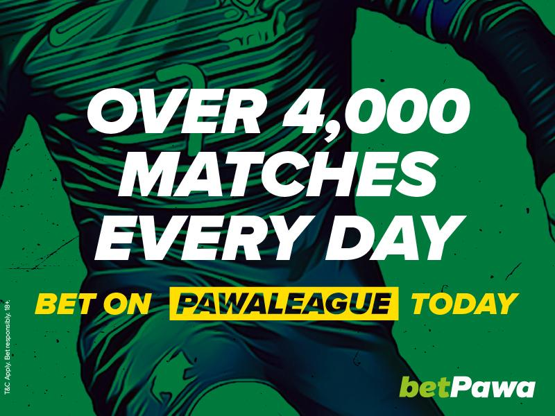 🇿🇼 betPawa add 4,320 more matches a day to win their 250% win bonus on