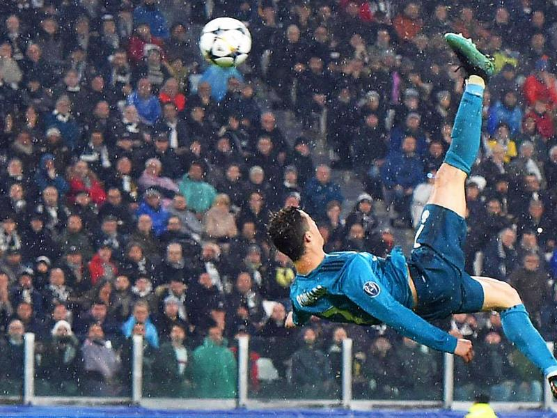 🚲 ON THIS DAY in 2018: Cristiano deflates his future employers with a bicycle kick from the blue