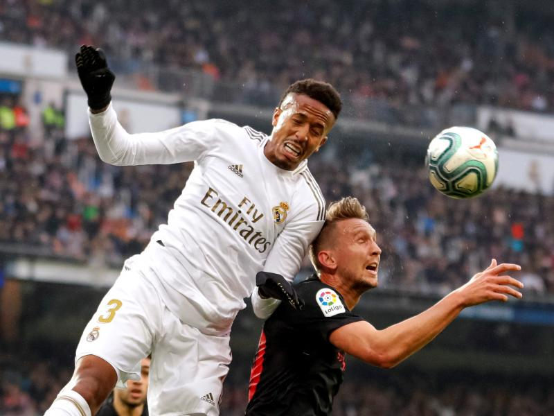 Eder Militao steps in Sergio Ramos shoes ahead of Champions League tie