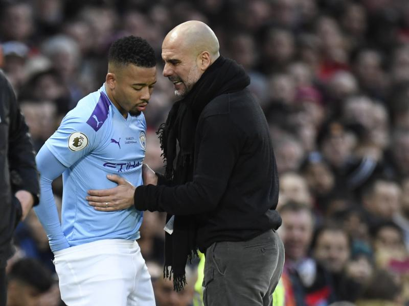 Gabriel Jesus might be out for weeks, reports suggest