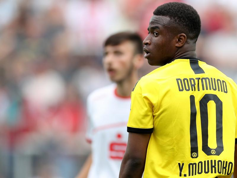 Who Is Youssoufa Moukoko The Borussia Dortmund Wonderkid Who S Broken All Youth Scoring Records In Germany Futaa Com