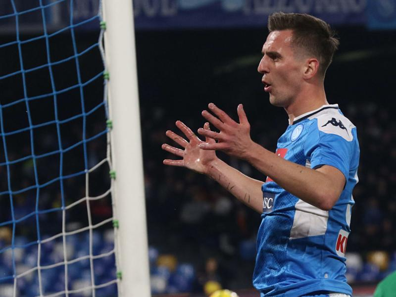 Napoli place €50m price tag on potential suitors for Arkadiusz Milik