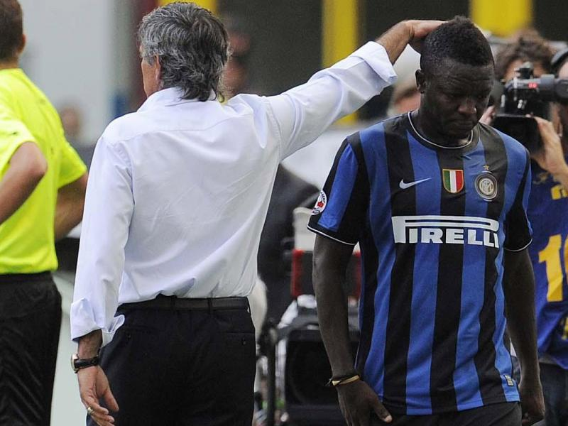 Sulley Muntari admits to still be in contact with former manager Jose Mourinho   Futaa.com Ghana