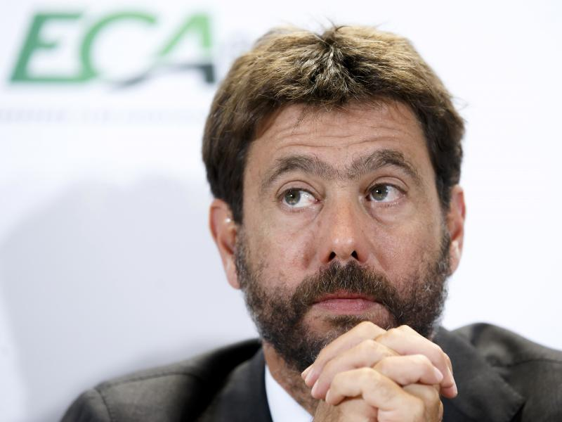 Reports: Juventus president and Super League chairman Agnelli has resigned