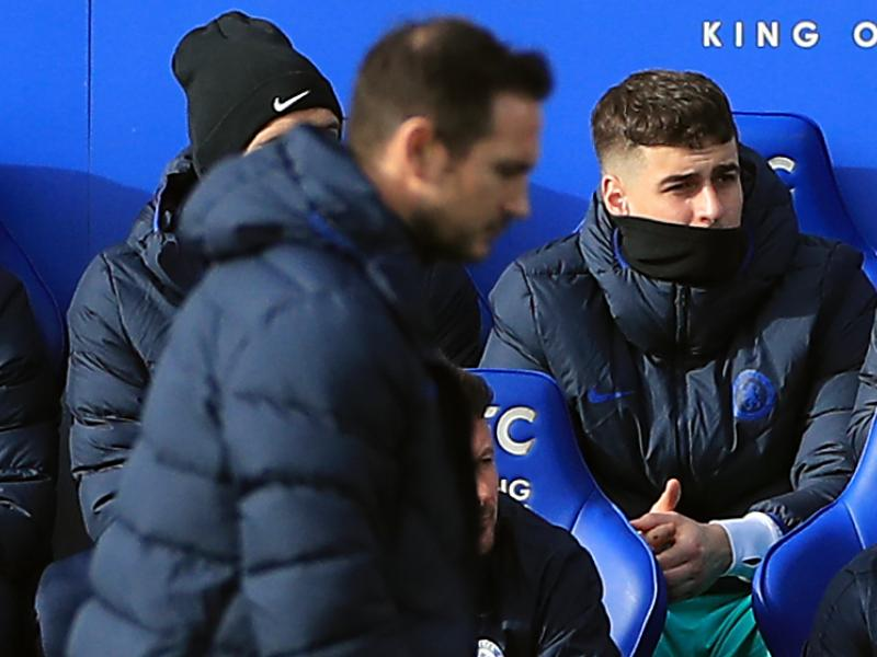 Kepa Arrizabalaga speaks on bust-up with manager Frank Lampard