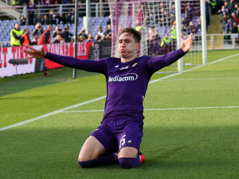 Fiorentina reveal that several clubs are interested in rising star Federico Chiesa
