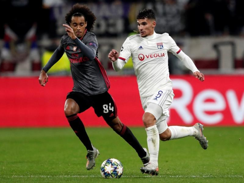 PSG join Manchester rivals in the race to sign Lyon's Houssem Aouar