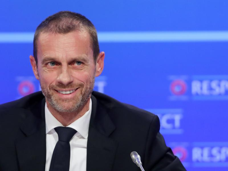 "Football with fans will return ""very soon"", says UEFA president"