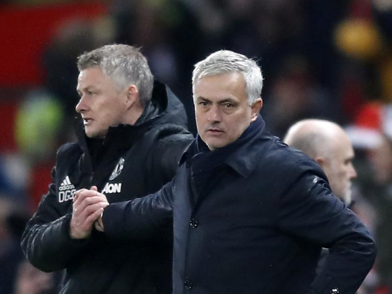 Solskjaer: Mourinho complained when he returned to Old Trafford with Spurs