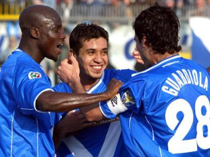 Stephen Appiah on the two players that helped him during his time at Brescia