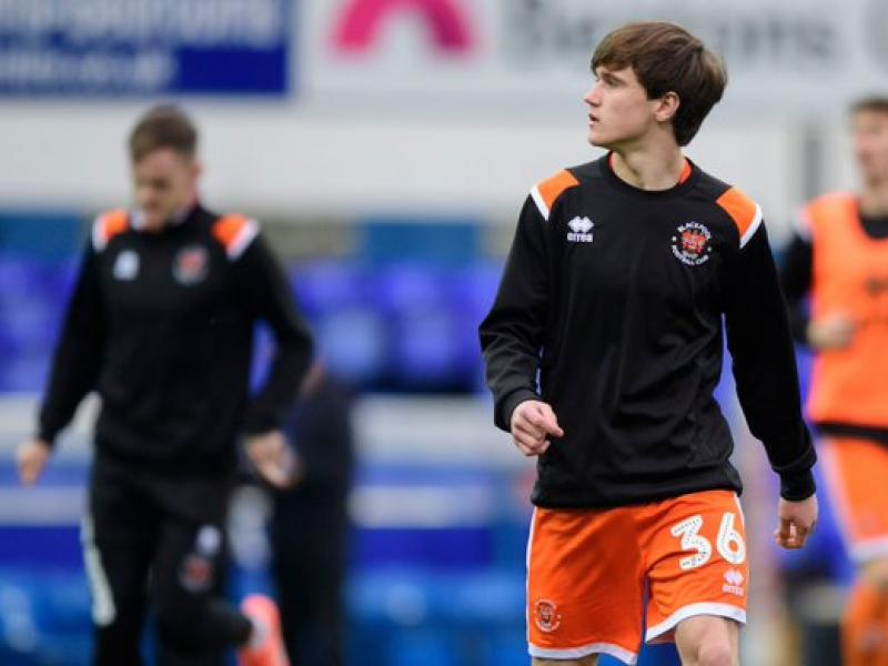 Rangers working on deal to sign Blackpool rising star Tony Weston