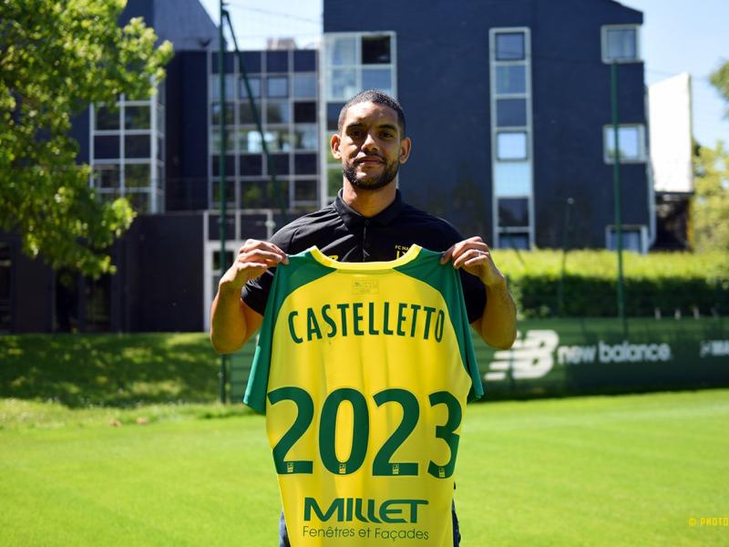 French side Nantes snaps up Cameroon international Castelletto