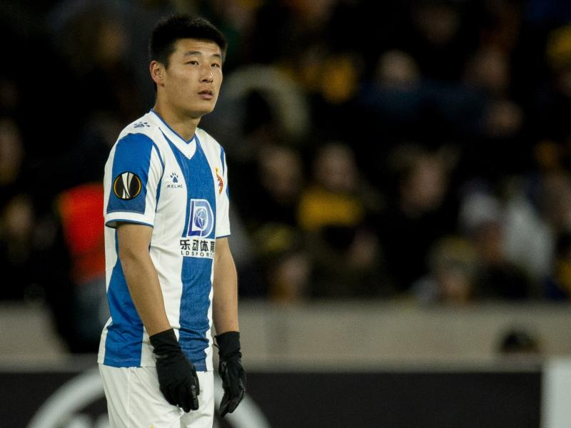🇨🇳 Espanyol forward Wu Lei linked with move to Premier League side Wolves