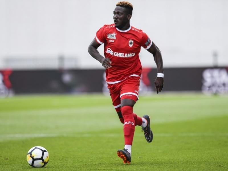 Daniel Opare ready for his debut with new club Zulte Waregem
