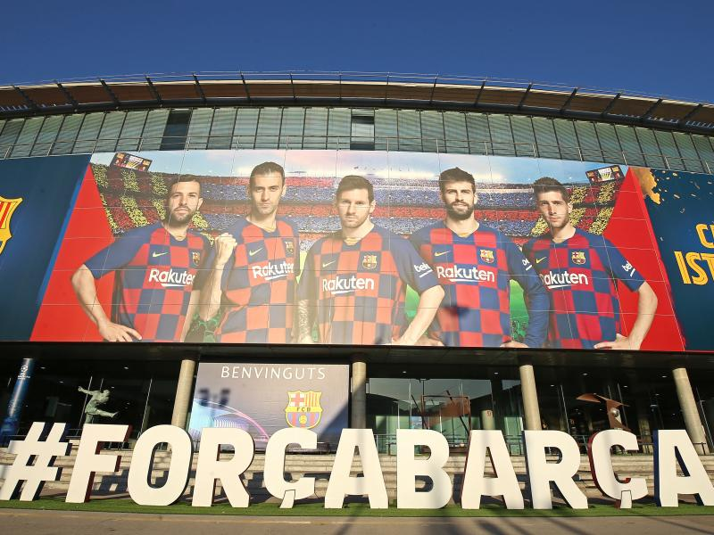 Barca set to wear new home kit against Espanyol