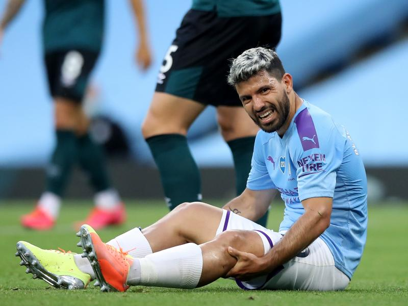 Man City's Sergio Aguero could be fit for Real Madrid clash
