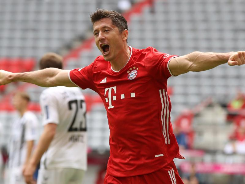 Robert Lewandowski voted Germany's Player of the Year 2020