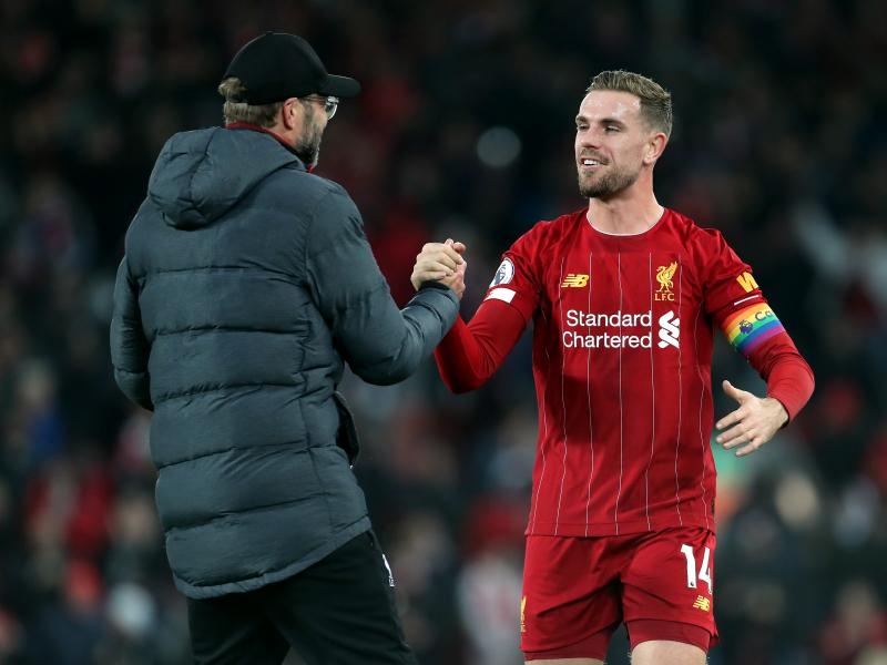 Jordan Henderson ruled out for weeks after undergoing surgery