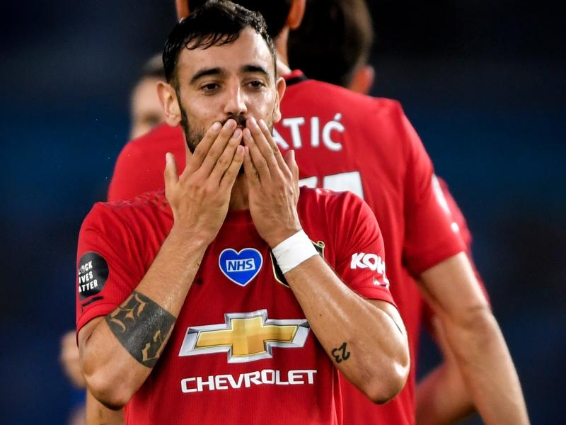 Bruno Fernandes could join exalted company if he scores against Crystal Palace
