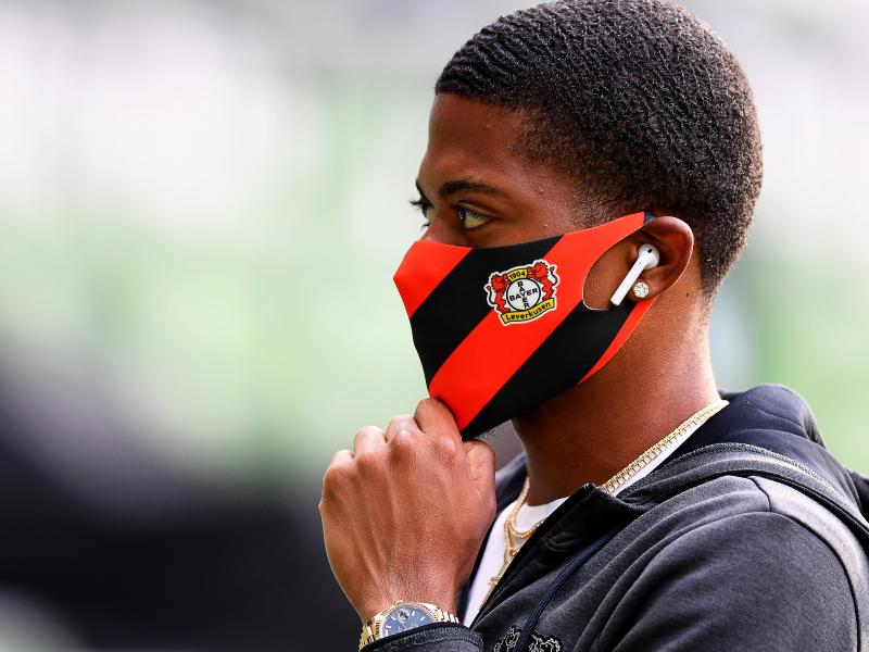 Liverpool, Man City Man United, Everton scouts to watch Bayer Leverkusen's Leon Bailey in DFB Pokal final