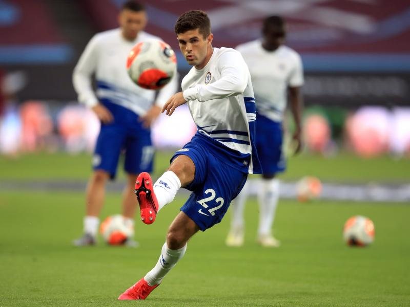 Lampard likens Pulisic to former Chelsea ace Hazard
