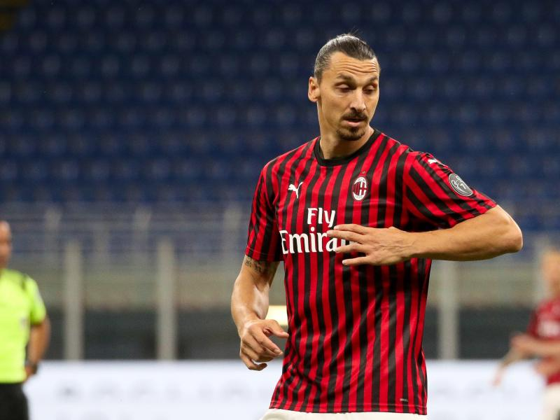 'Ibra is not a player for the Europa League' - Zlatan hints at AC Milan exit