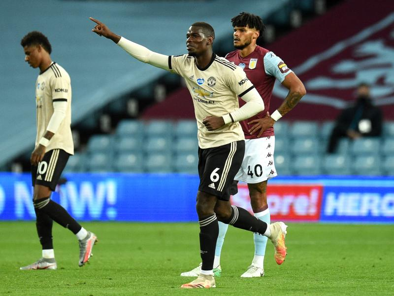 Paul Pogba gives verdict on Manchester United top four chances