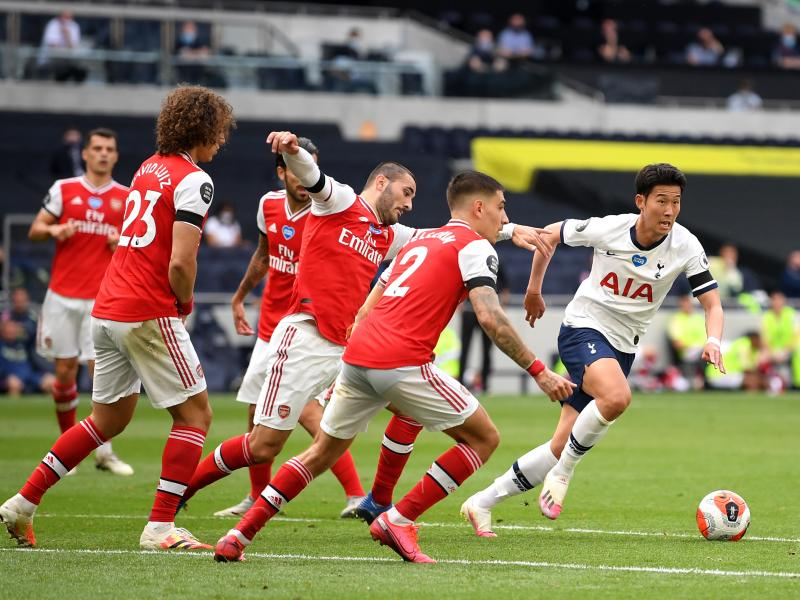 Tottenham 2-1 Arsenal: Spurs leapfrog Gunners after north London derby win