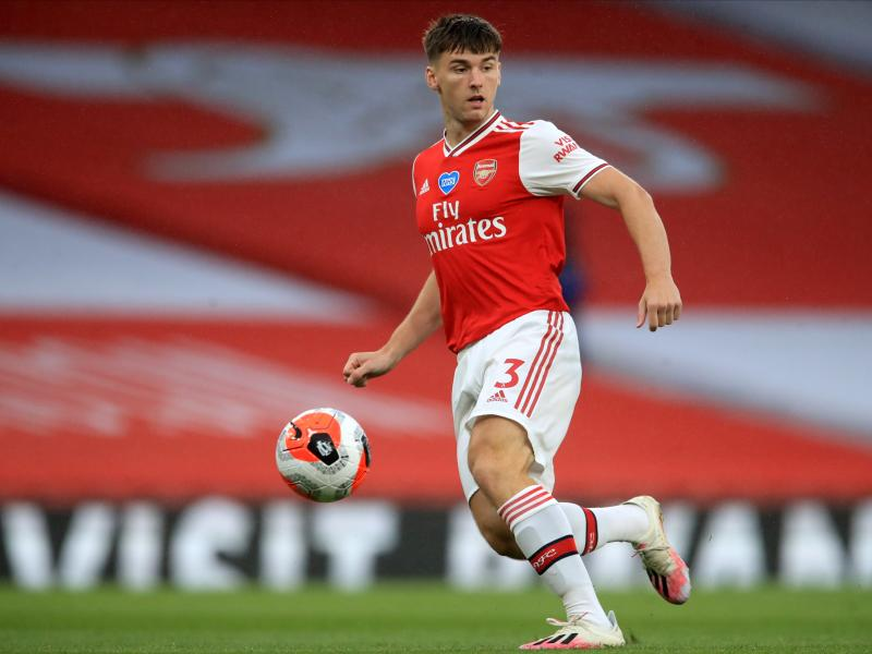 Mikel Arteta accused of 'confusing' Kieran Tierney