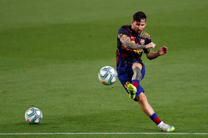 Messi set to return to training on Monday