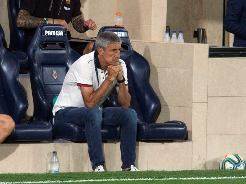 Quique Setien to lose Barcelona job if he fails to win the Champions League