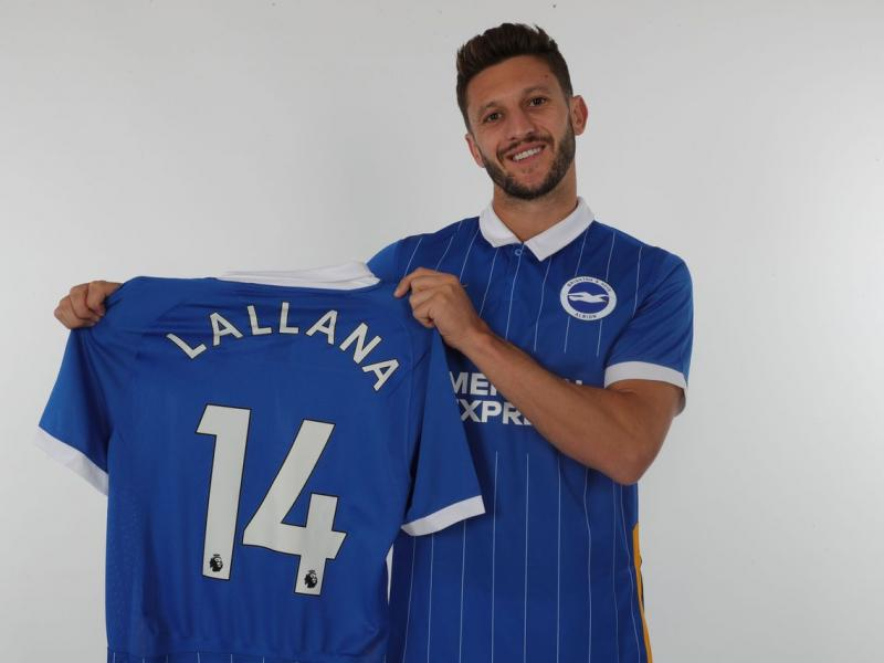 Brighton complete Adam Lallana signing from Liverpool
