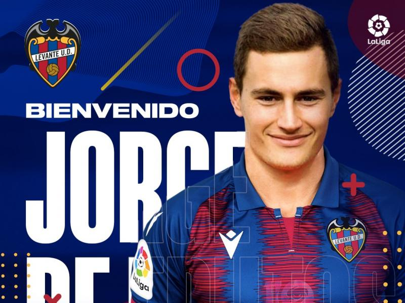 Real Madrid sell winger Jorge to Levante