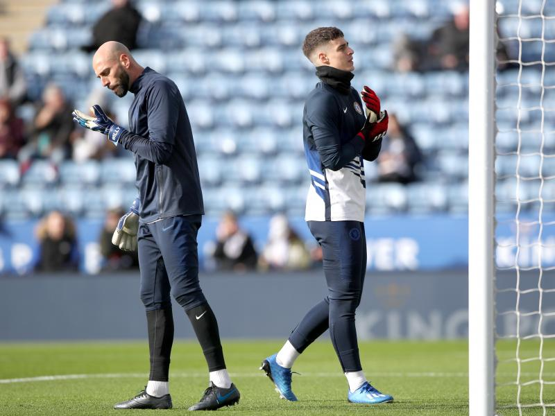 Caballero offers support for under-fire Arrizabalaga