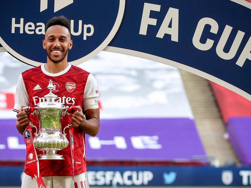 🎯 Aubameyang breaks Three records after FA Cup win