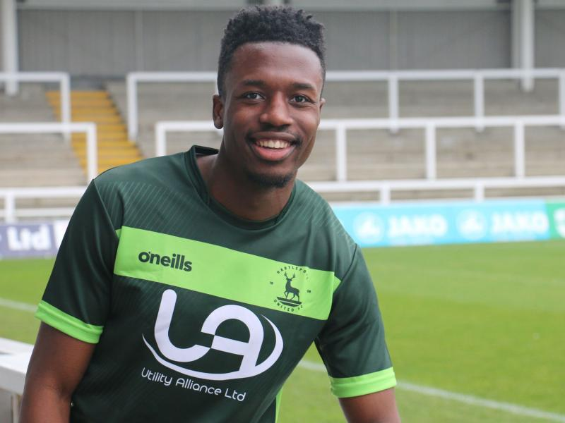 Hartlepool sign former Norwich City centre-back Timi Odusina on a permanent deal