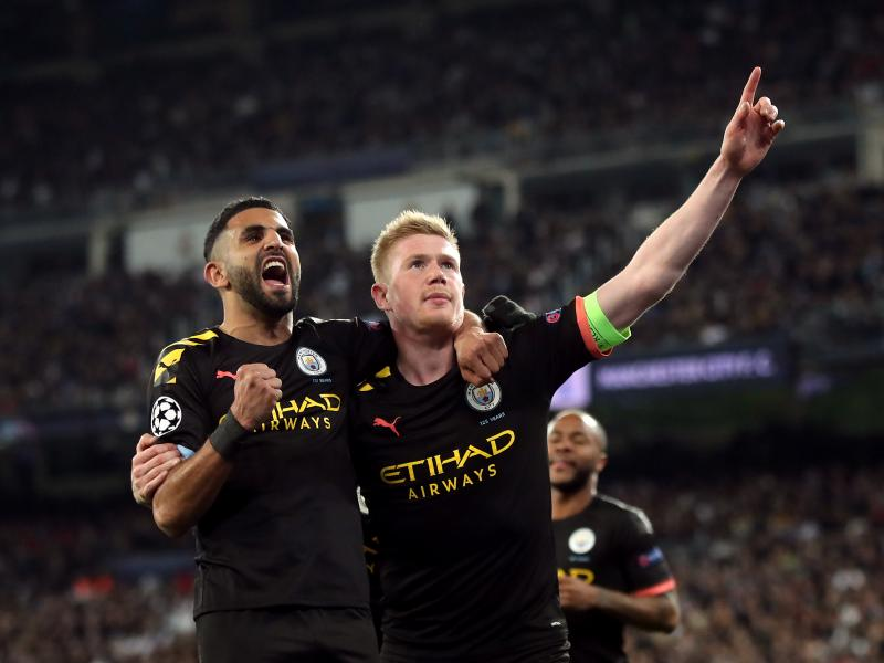 Mahrez starts again as Guardiola names a strong XI to face Fulham