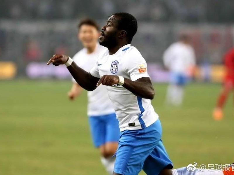 Frank Acheampong nearing injury return for Tianjin Teda