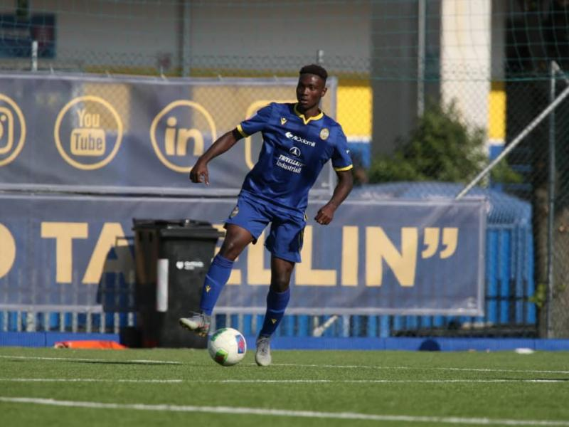 Philip Yeboah becomes a Serie A first team player with Hellas Verona