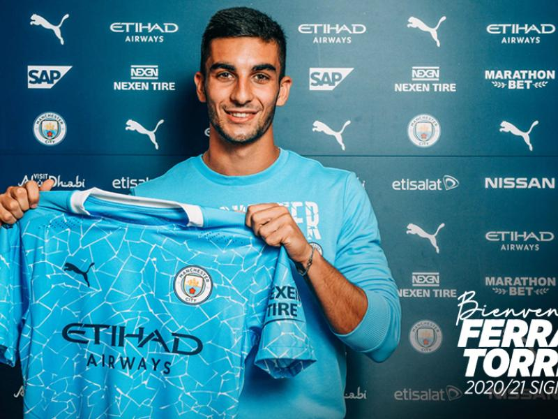 🔵 OFFICIAL: Manchester City sign Ferran Torres from Valencia
