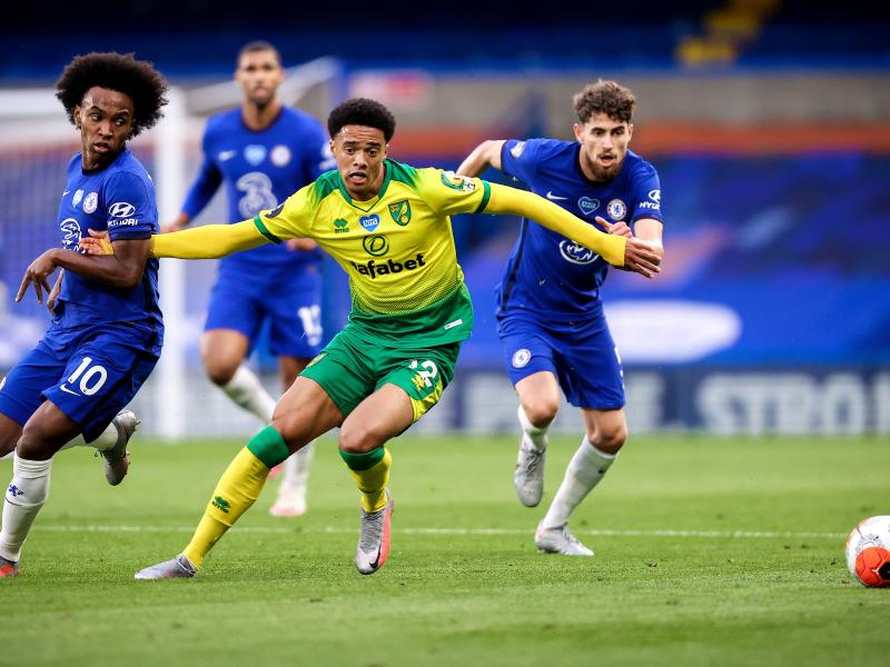 Liverpool want a swap offer for Norwich fullback Jamal Lewis