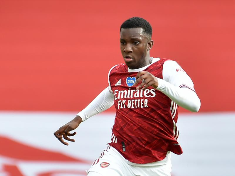 Eddie Nketiah hoping for more opportunities at Arsenal