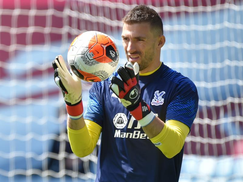 Crystal Palace goalkeeper Vicente Guaita linked with move back to Spain following Real Betis interest
