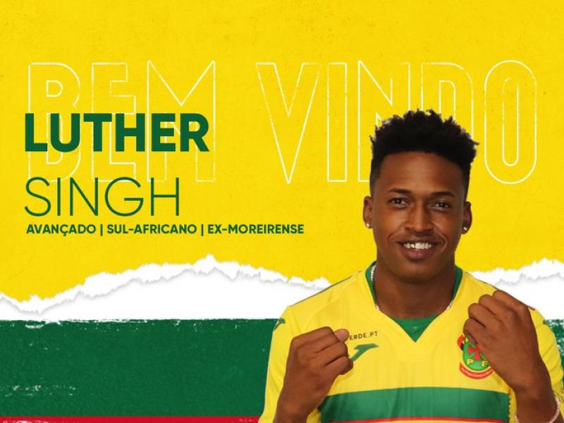 Breaking: Bafana star Luther Singh signs for new Portuguese