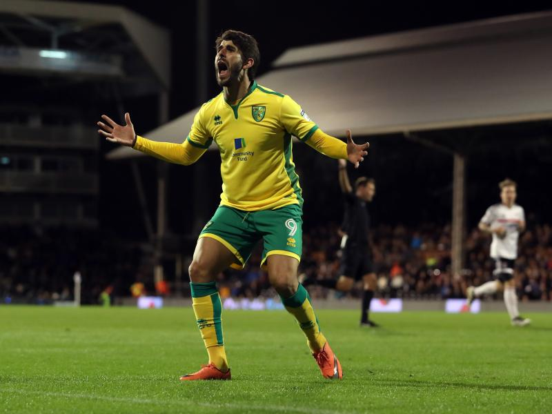Wolves look to complete move for former Norwich City striker Nelson Oliveira